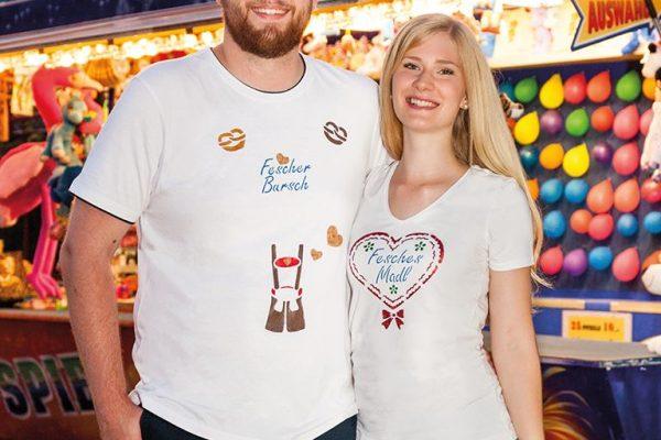 """Oktoberfest T-Shirt """"Fesches Madl"""""""