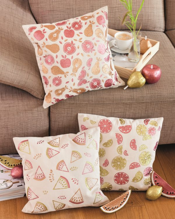 Fruchtige Kissen