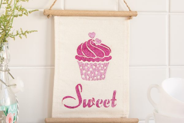 Wandhänger-Cupcake