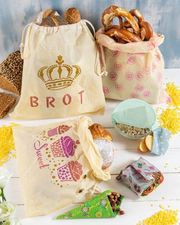 Brotbeutel mit IZINK Diamond 24 Karat